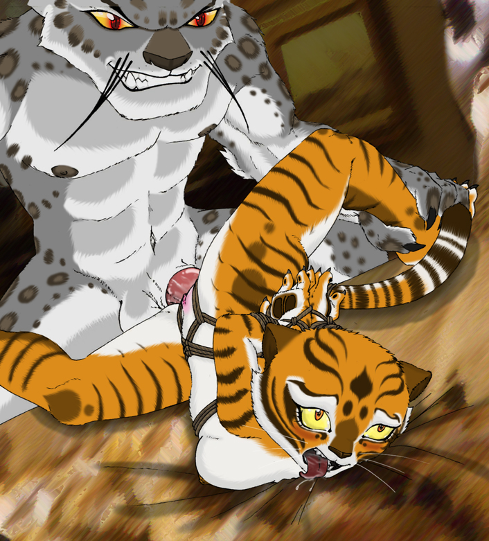 tiger panda is a fu fanfiction po kung What fnia character are you