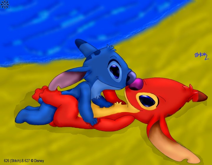 stitch experiments and lilo all Dink the little dinosaur amber