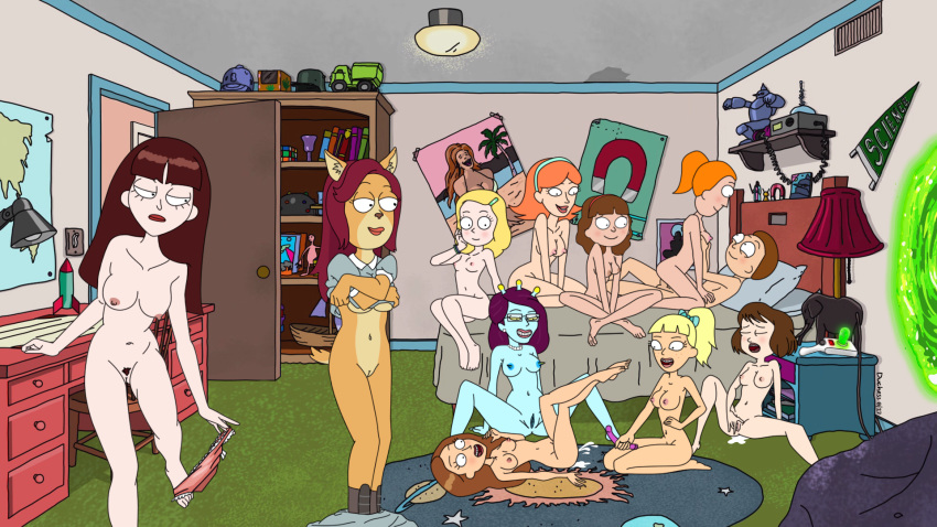 smith rick morty and nude beth Ghost in the shell