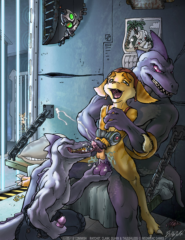and courtney ratchet clank gears My little pony porn 3d