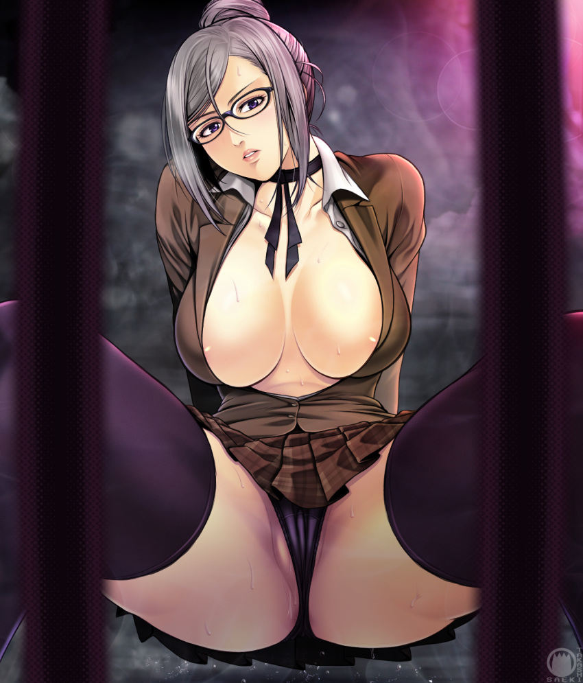 shiraki meiko from prison school Overly sarcastic productions red and blue